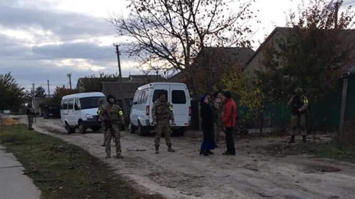 Обыски в оккупированном Крыму