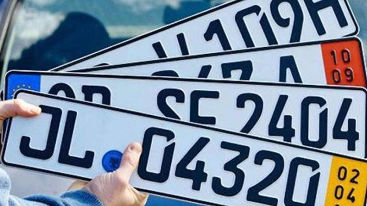 Владельцы авто на еврономерах продолжают митинговать под Радой