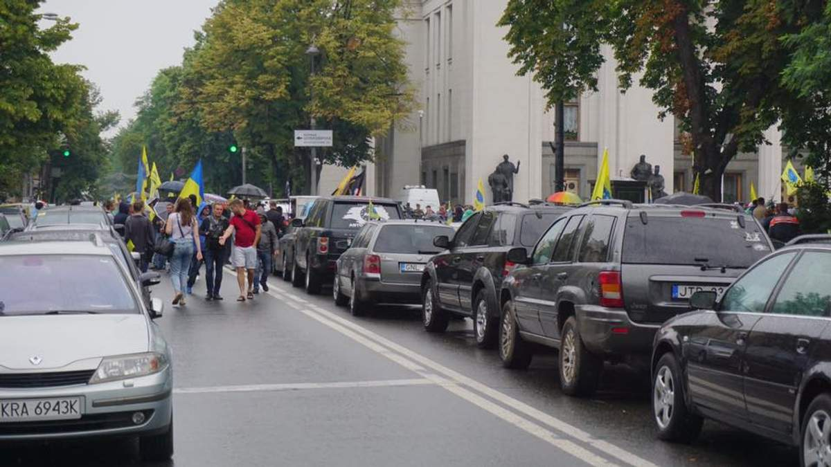 """Нововведення для """"євроблях"""": що обурило автомобілістів"""