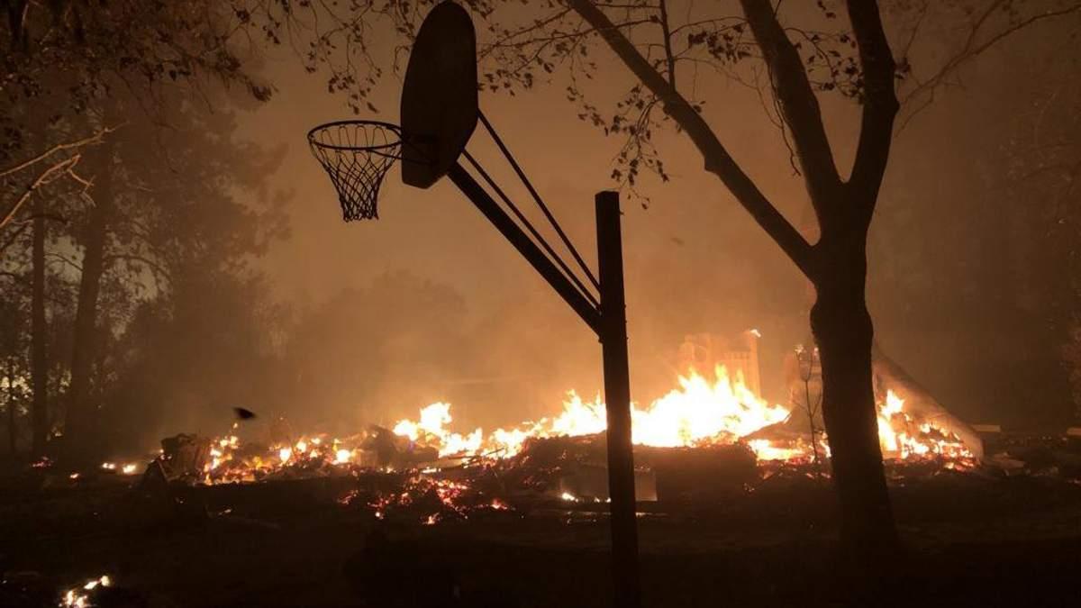 У Каліфорнії вирують масштабні лісові пожежі