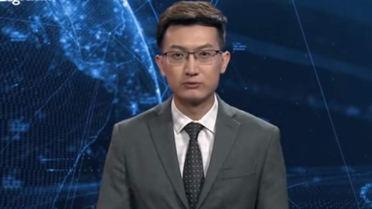 У Китаї ведучим став штучний інтелект