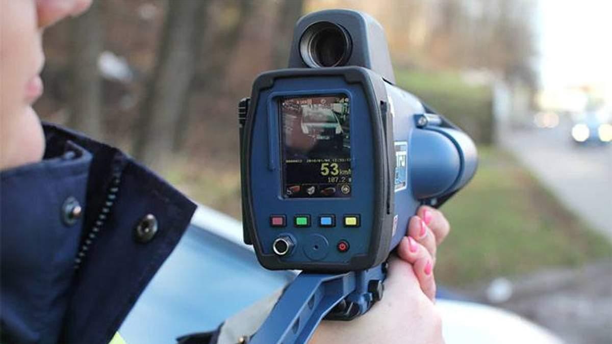 Радари TruCam на дорогах: скільки порушень зафіксували патрульні