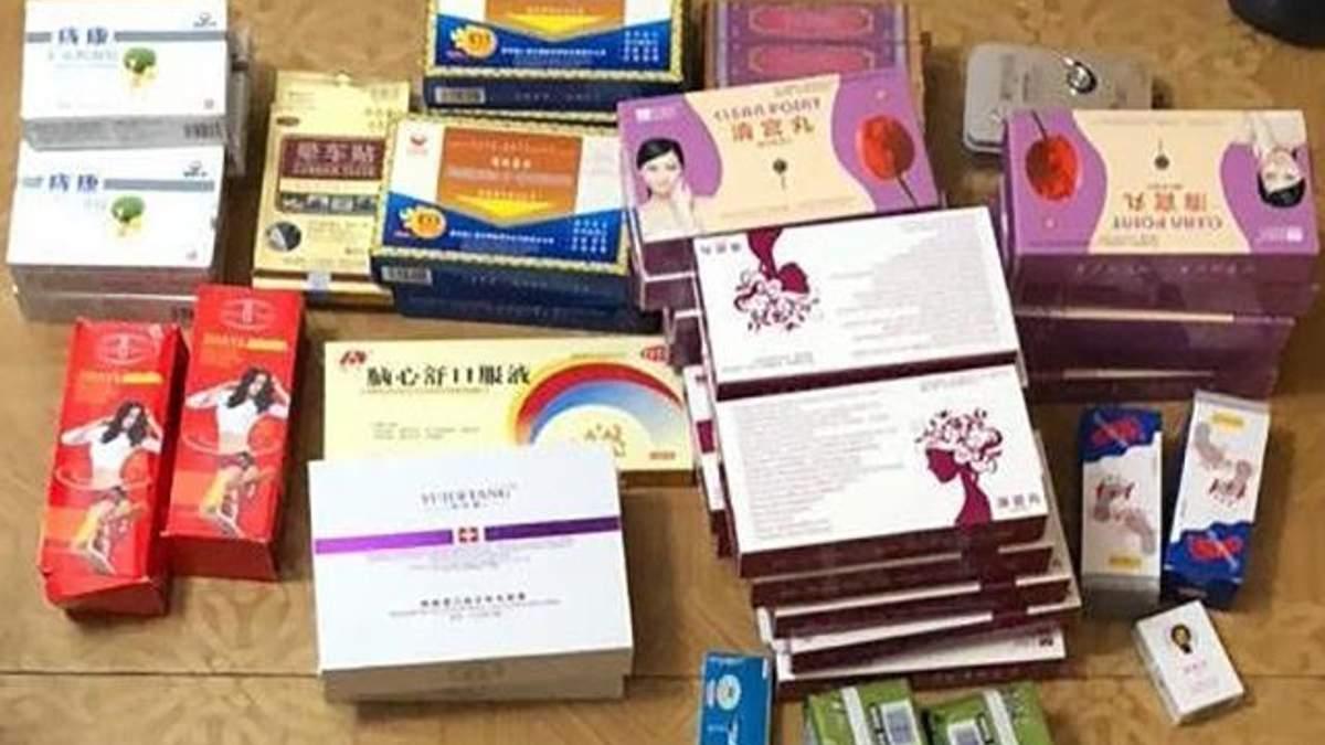 В Киеве женщина продавала под видом таблеток для похудения психотропное вещество