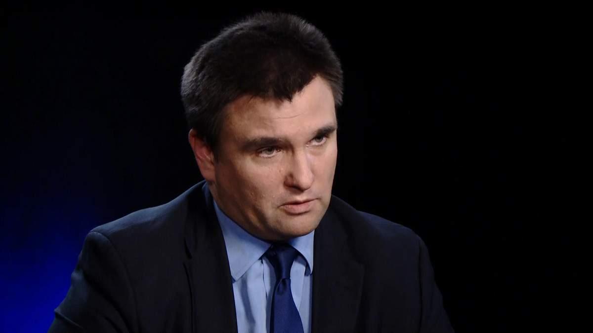Клімкін розповів про санкції для Росії через псевдовибори на окупованому Донбасі
