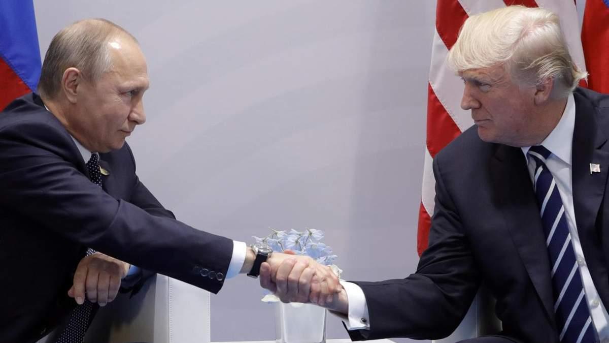 В сети высмеяли поздравления Путина с Трампом в Париже