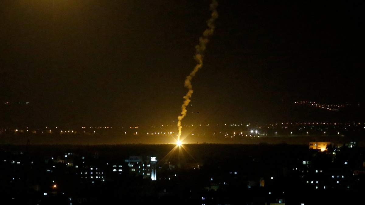 Израиль нанес ответный удар по Сектору Газа