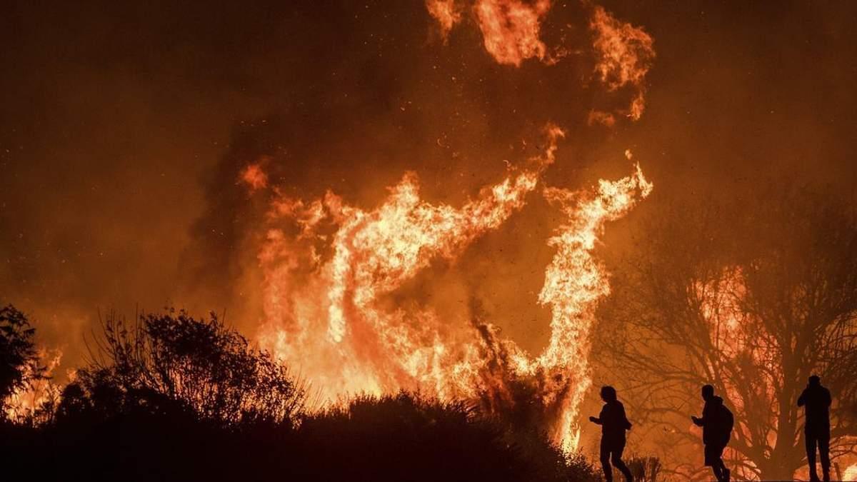 Стихийный пожар в Калифорнии продолжает уносить жизни