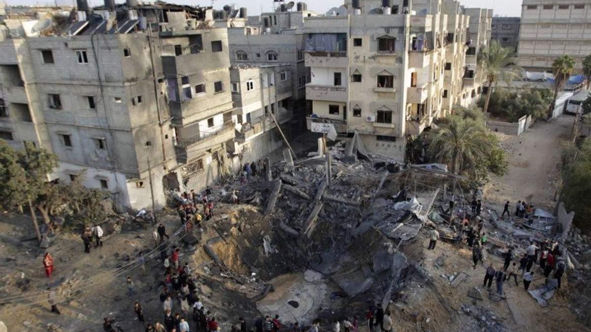 Израиль снова нанес удар по ХАМАСу в Секторе Газа