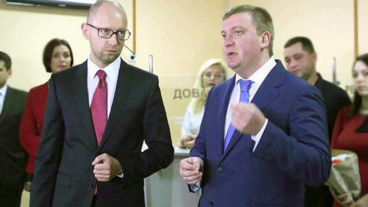 НАБУ открыло дело против Яценюка и Петренко, – СМИ