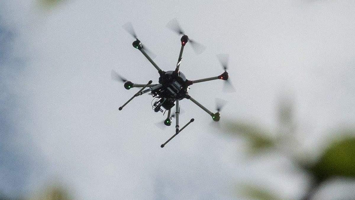 Біля військового арсеналу на Кіровоградщині зафіксували невідомий безпілотник