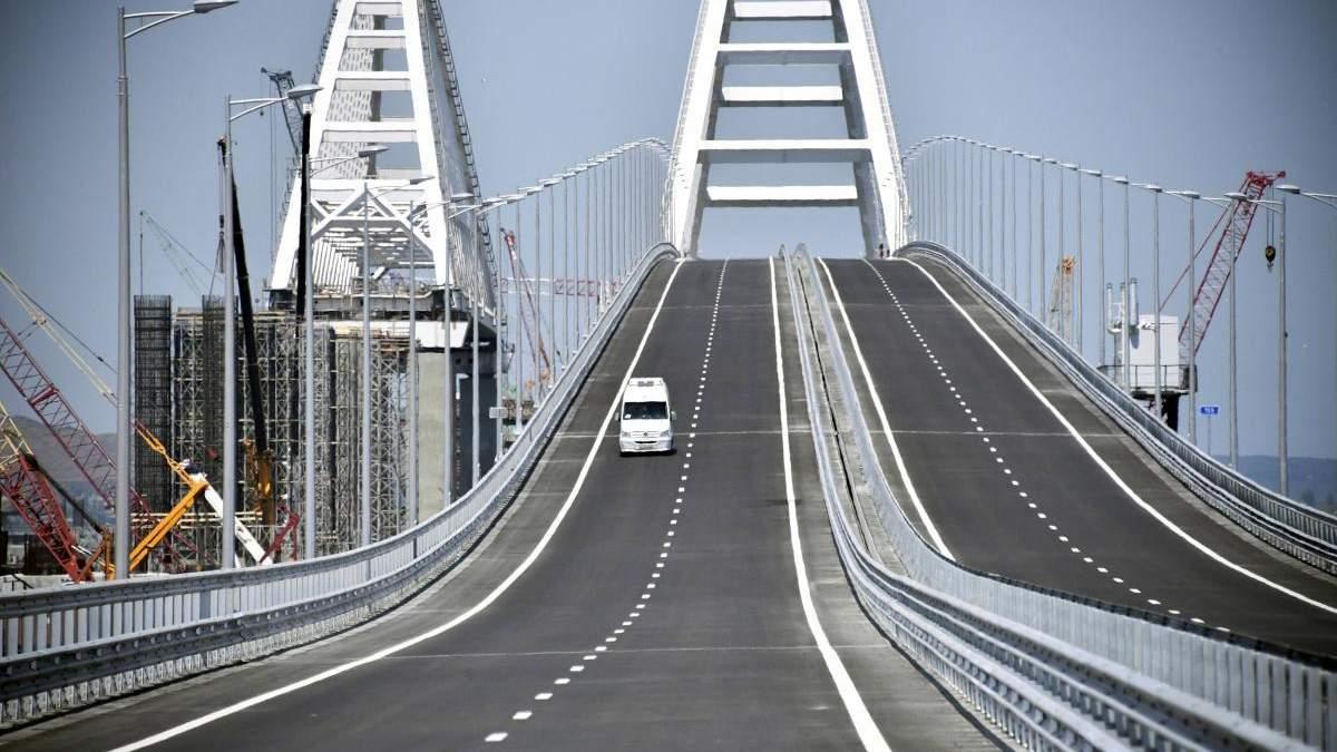 Під час будівництва Кримського мосту сталася серйозна аварія