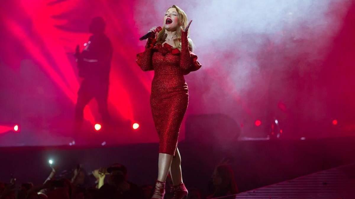 "Тина Кароль – четырехкратная обладательница ""М1 Music Awards"""