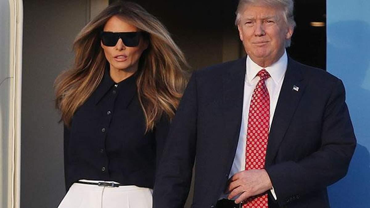 Ненавидит, но держит рядом: каким колоссальным влиянием обладает Мелания Трамп на своего мужа - 16 листопада 2018 - Телеканал новин 24