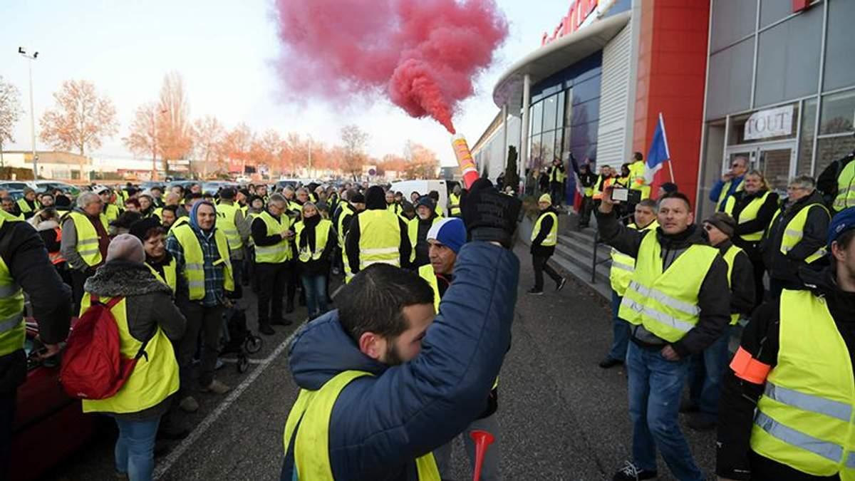 У Франції масштабні протести, є жертви: фото