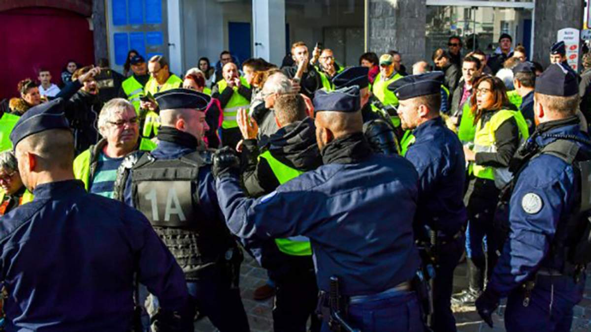 Протести водіїв у Франції: нові деталі, фото та відео