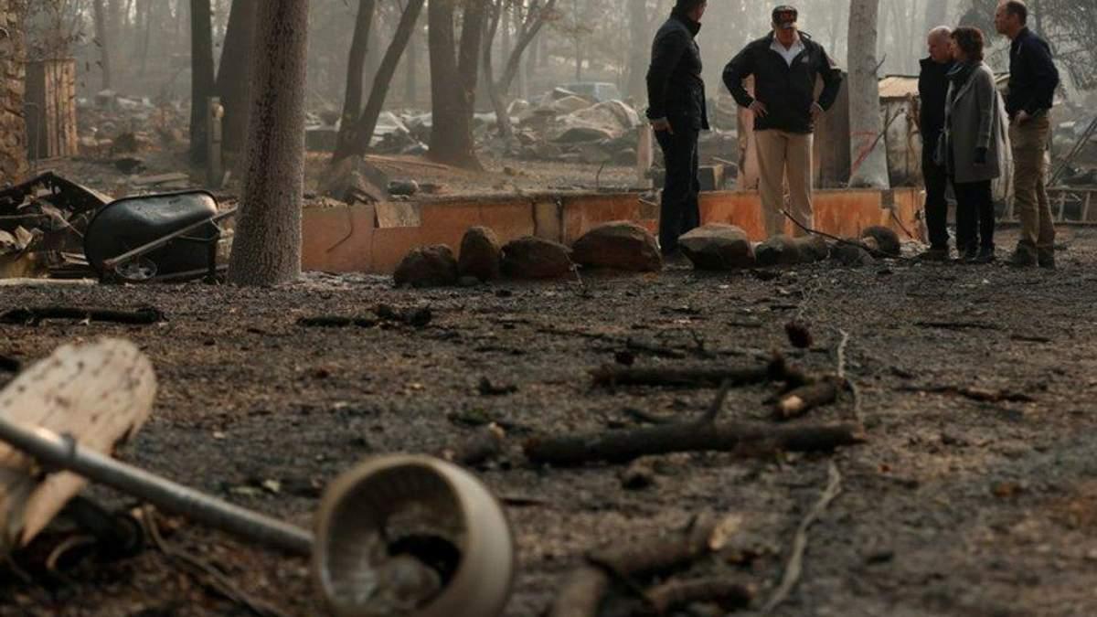 Знову зросла кількість жертв внаслідок пожеж у Каліфорнії