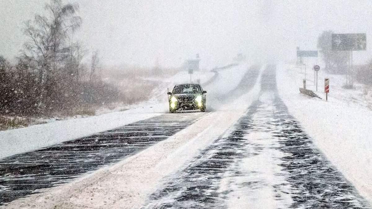 Українська недбалість: через прихід зими в Україні трапилась тисяча ДТП впродовж доби - 19 листопада 2018 - Телеканал новин 24
