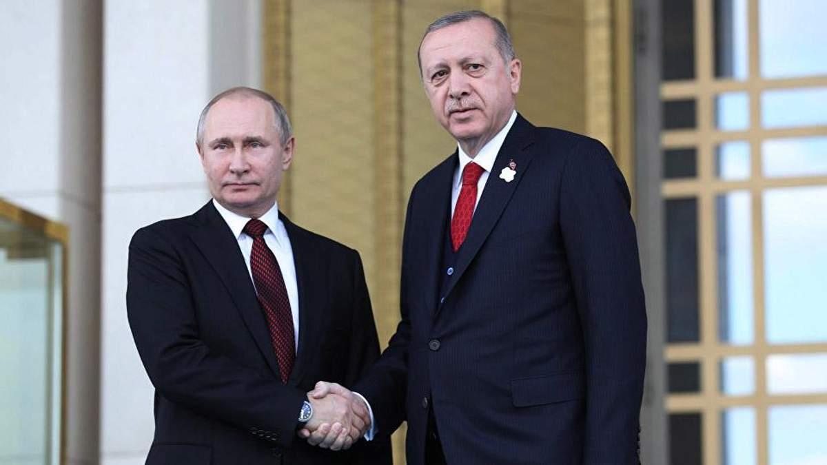 """Путин и Эрдоган открыли первую нитку """"Турецкого потока"""": чем это грозит Украине"""