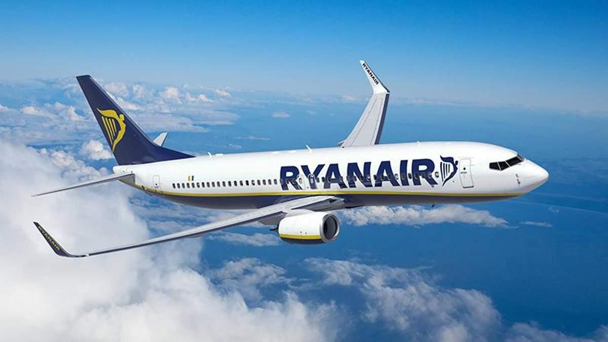 Ryanair планує інвестувати в Україну близько 1,5 мільярда євро