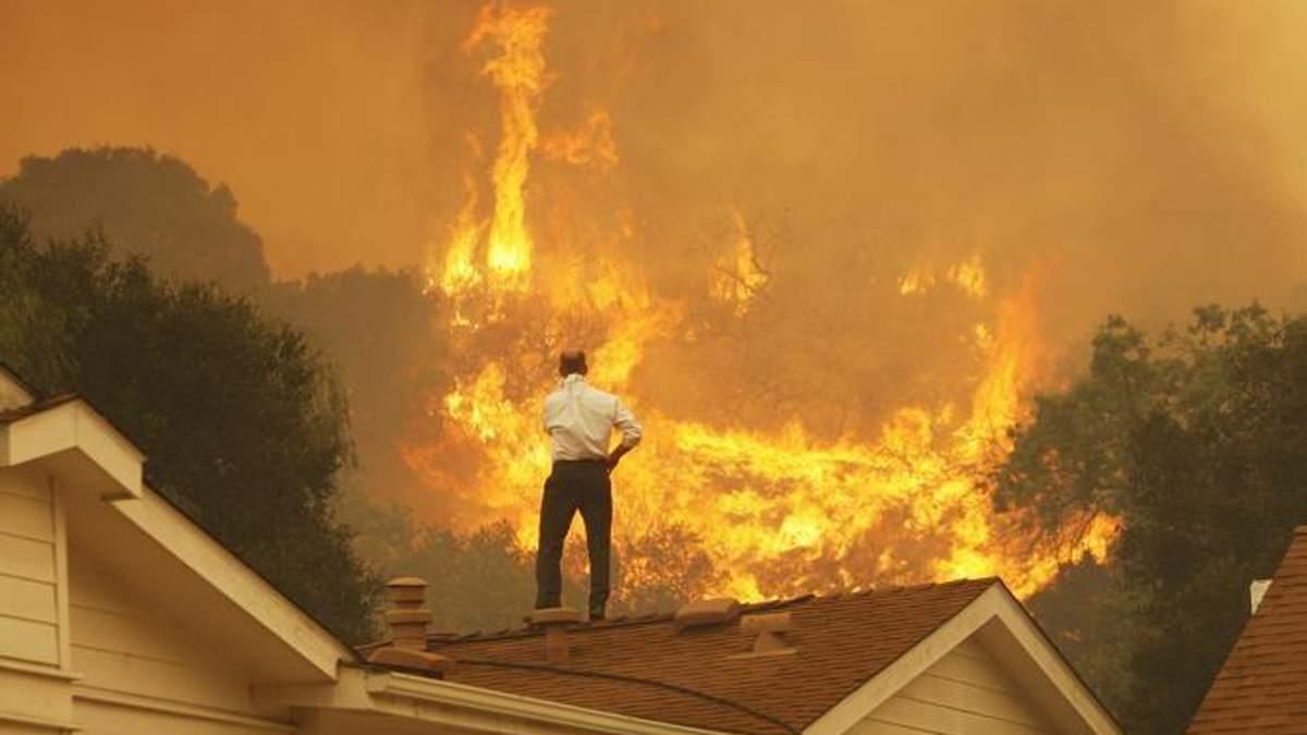 """""""Найгірший сценарій"""" для Каліфорнії: після пожежі людям загрожують потоп і зсуви ґрунту"""