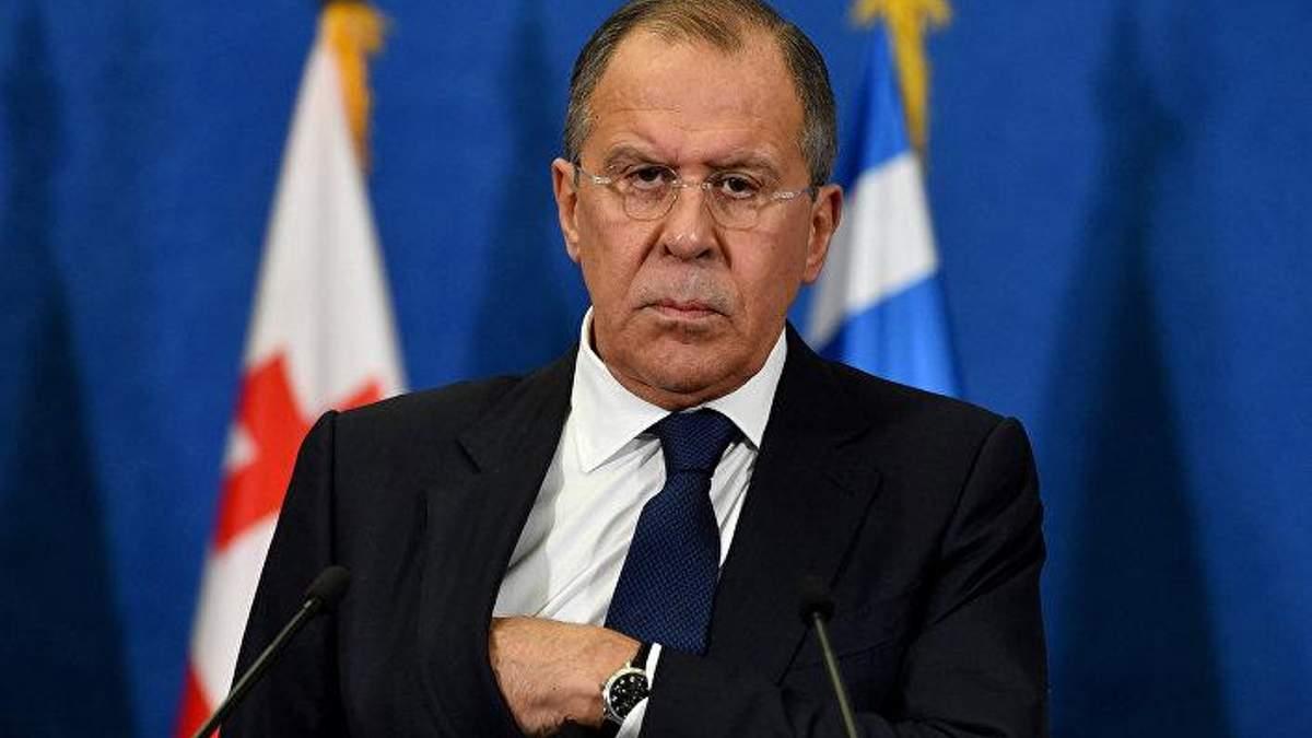Лавров цинично заявил, что действия РФ в Азовском море не являются противоправными