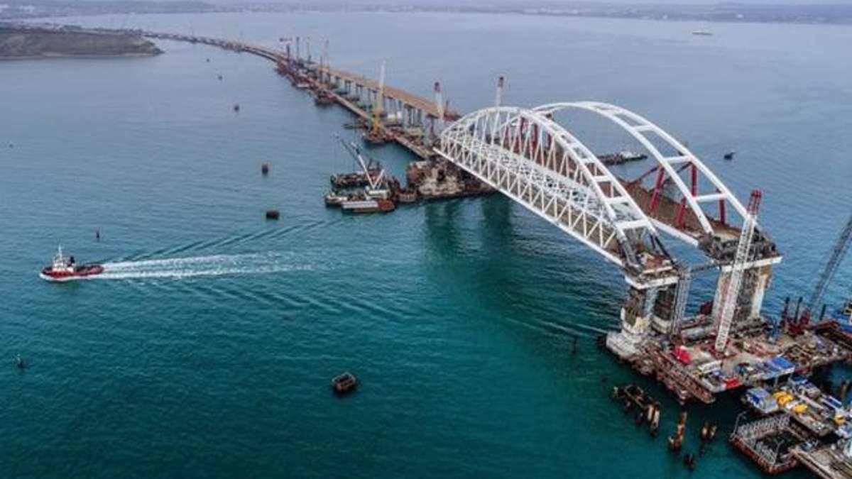Крымский мост может треснуть
