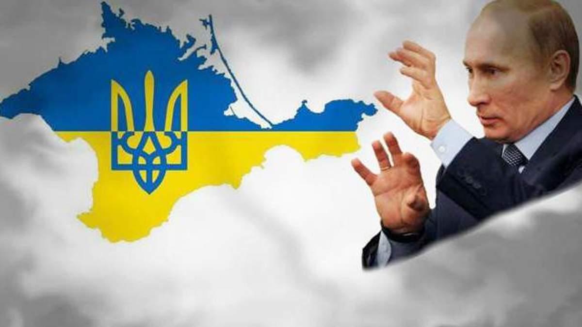 Російські окупанти змінюють кордони Криму