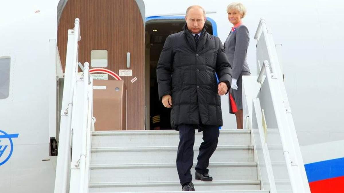Путін приїхав в окупований Крим