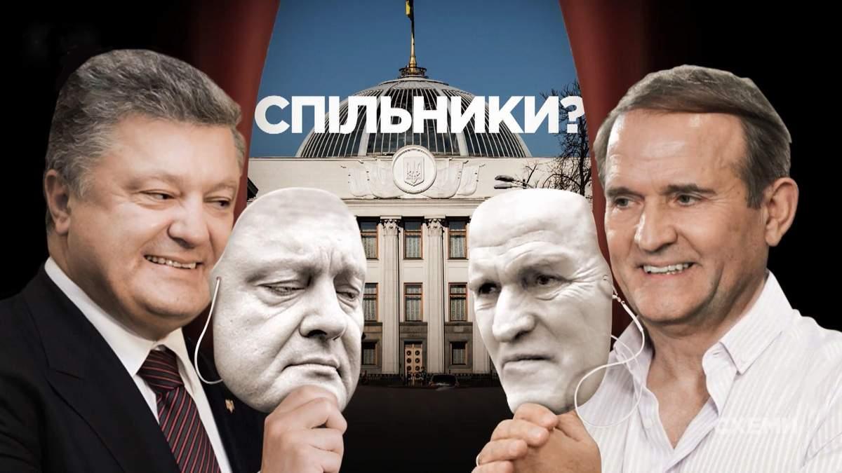 Що насправді пов'язує Віктора Медведчука та Петра Порошенка: журналістське розслідування