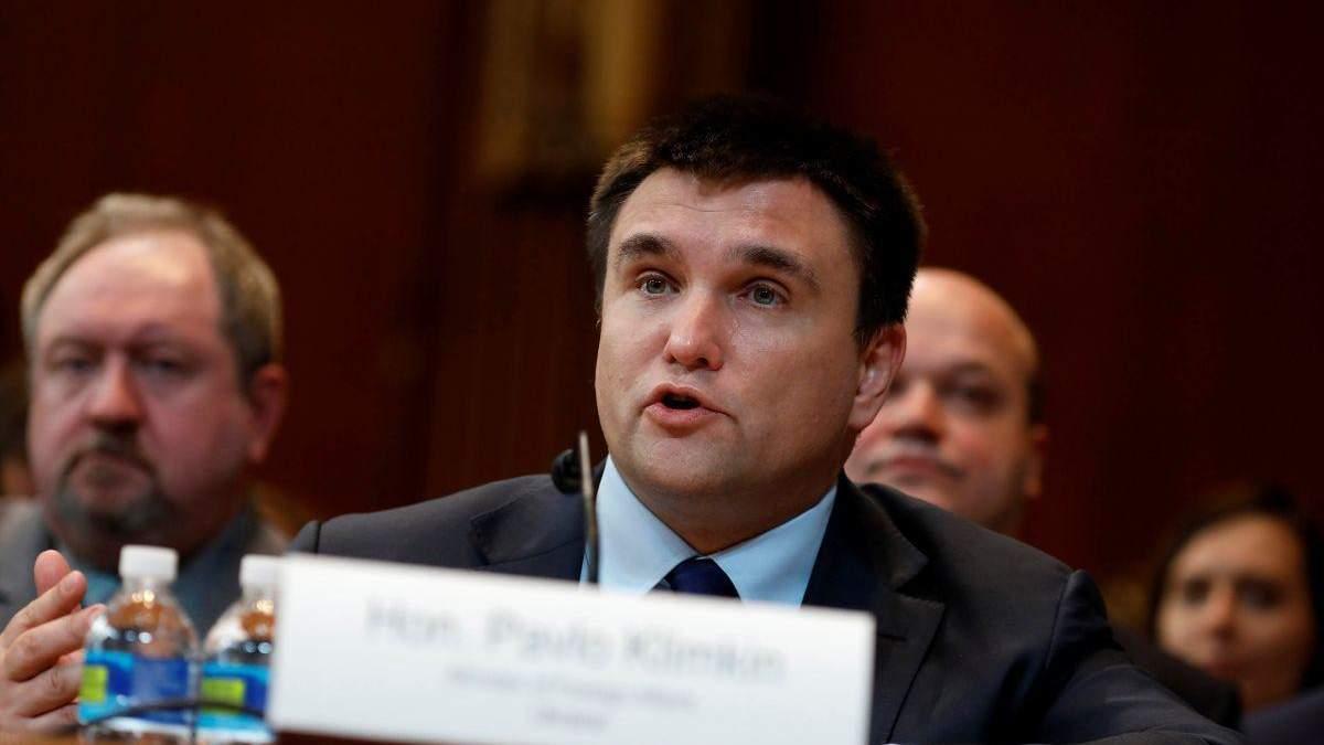 Климкин заявил, что не будет обсуждать с Венгрией толкование законов Украины