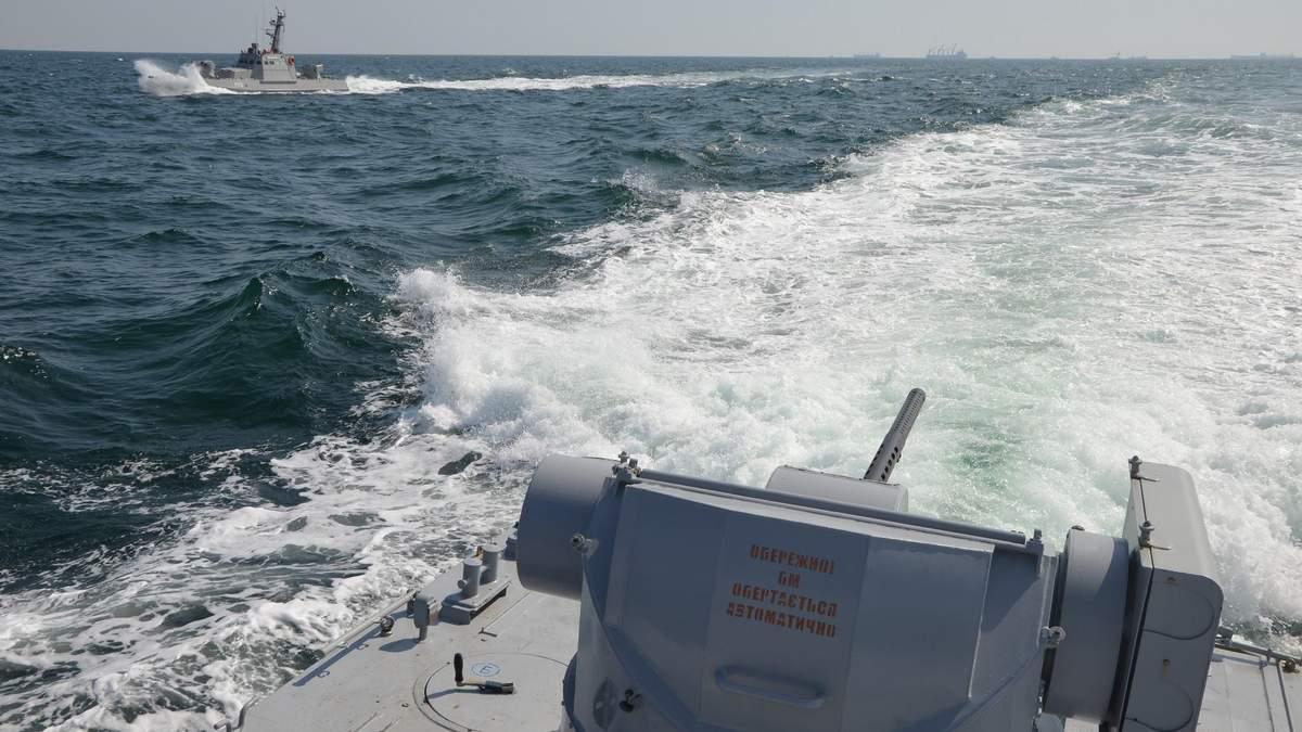 Нападение на украинские корабли в Азовском море