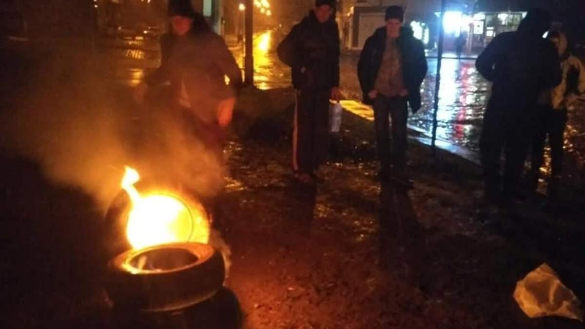Протесты возле консульства РФ во Львове