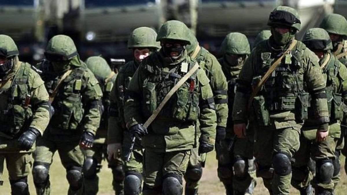 У Міноборони озвучили цифри кількість військових РФ в окупованому Криму
