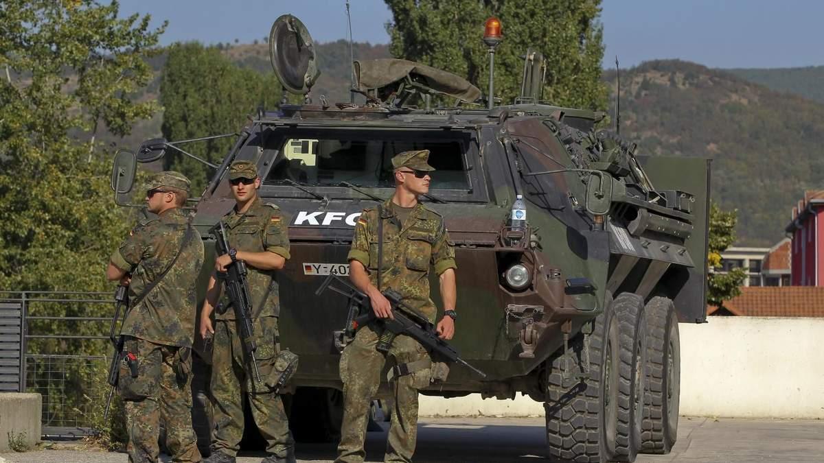 На Балканах неспокойно: силы под руководством НАТО проведут учения на севере Косово