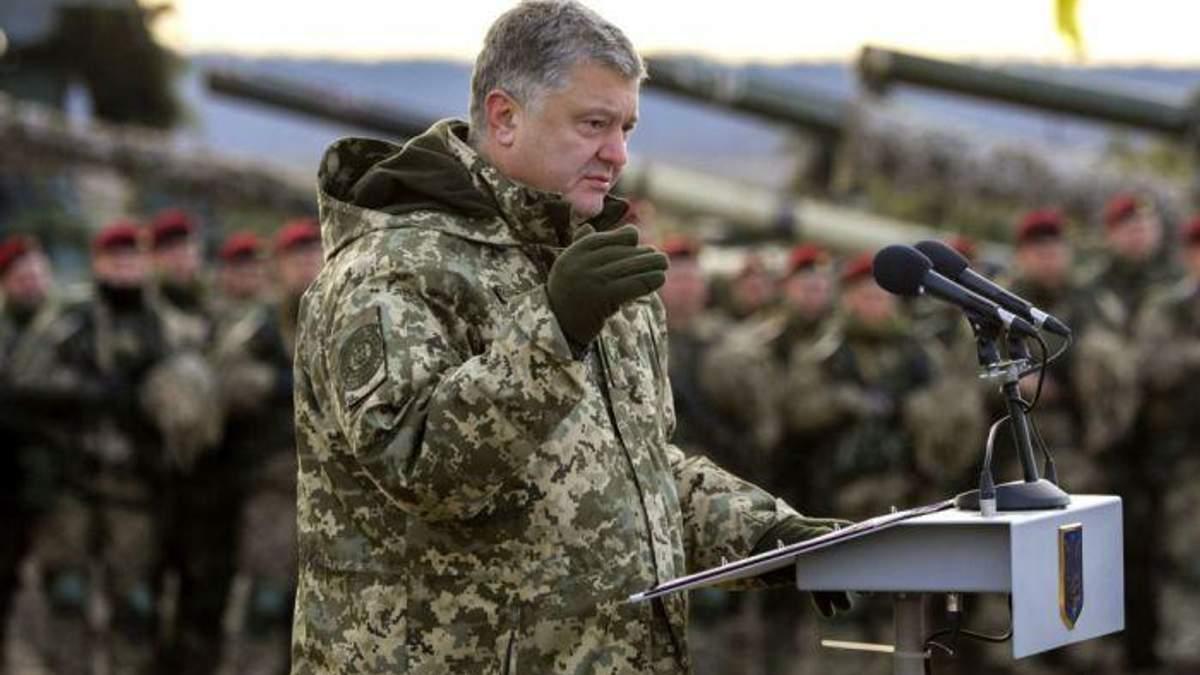 Порошенко розповів, чому ввів воєнний стан в Україні лише зараз