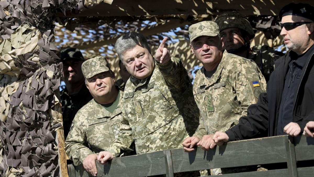 Указ Президента  №393 про запровадження в Україні воєнного стану 2018