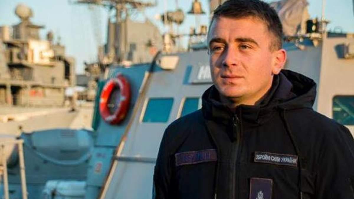 """Командир """"Нікополя"""" Богдан Небилиця"""
