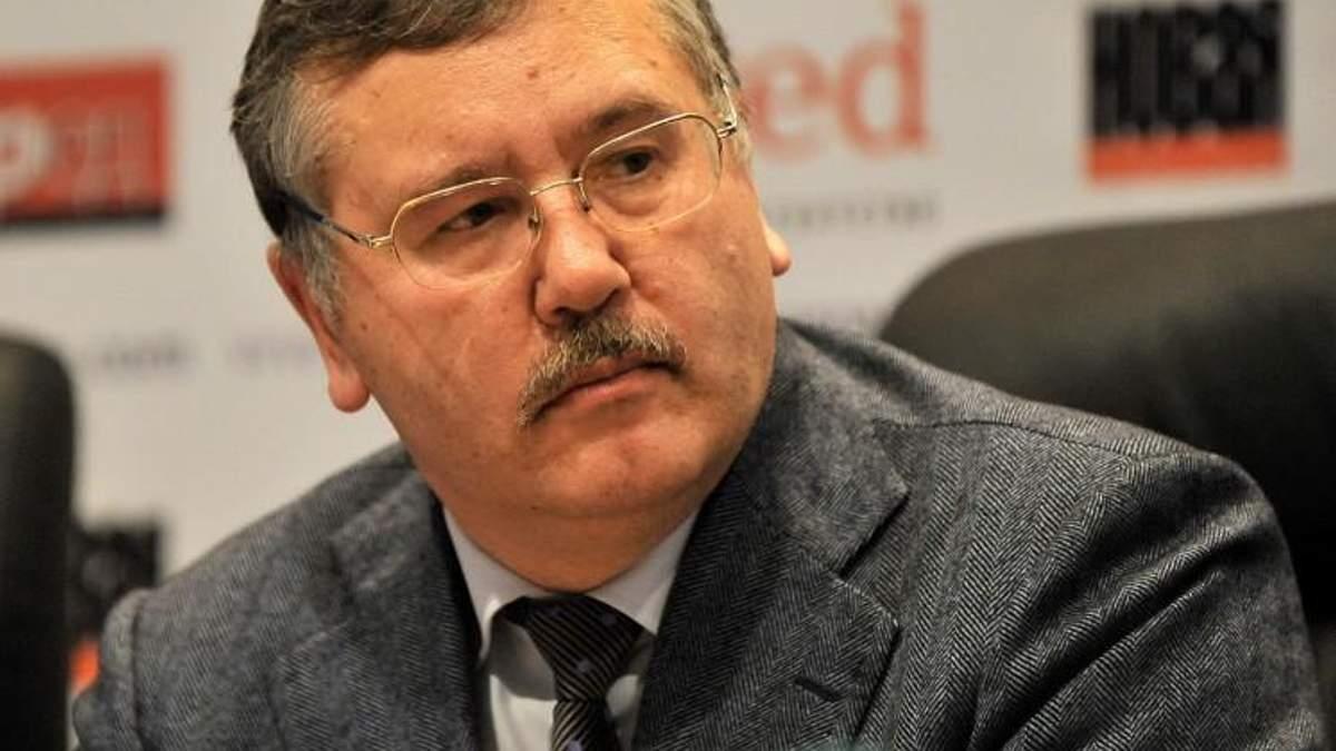 Анатолій Гриценко прокоментував напад на себе