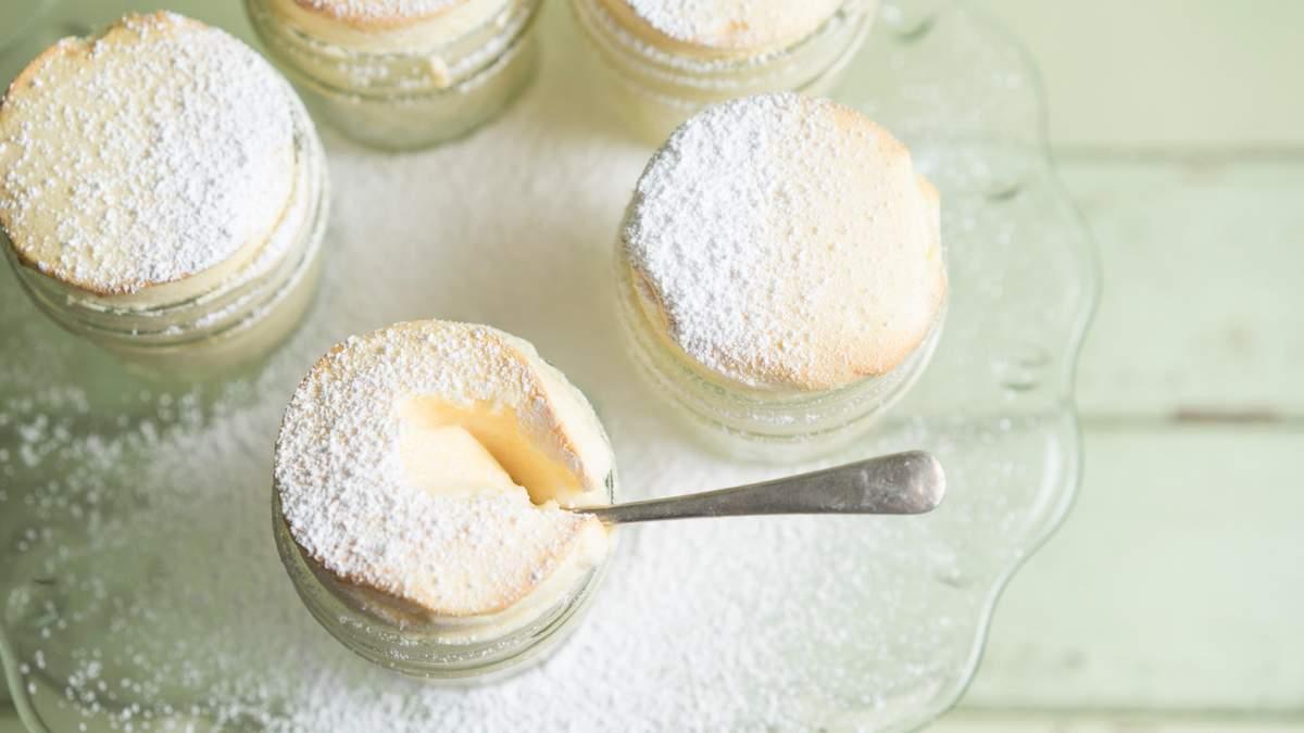 Рецепт лимонного крема к десертам