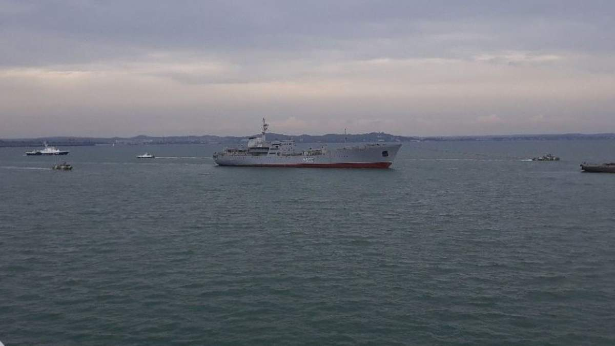 Росія застосувала кілька видів зброї, захоплюючи українські кораблі