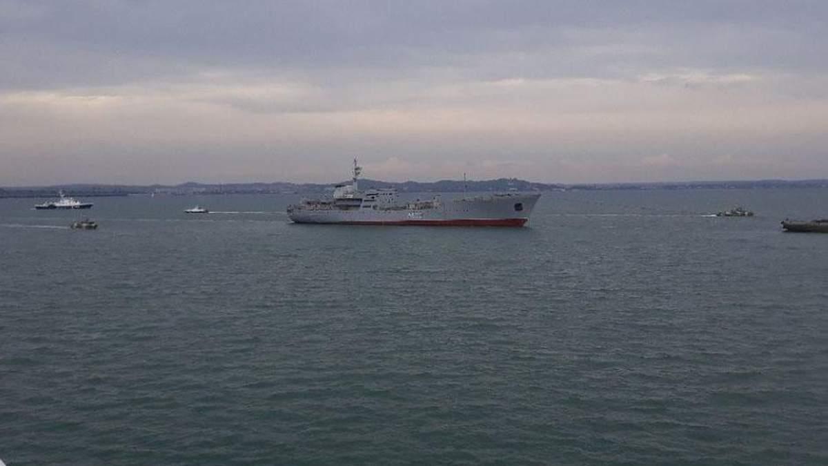 Россия применила несколько видов оружия, захватывая украинские корабли