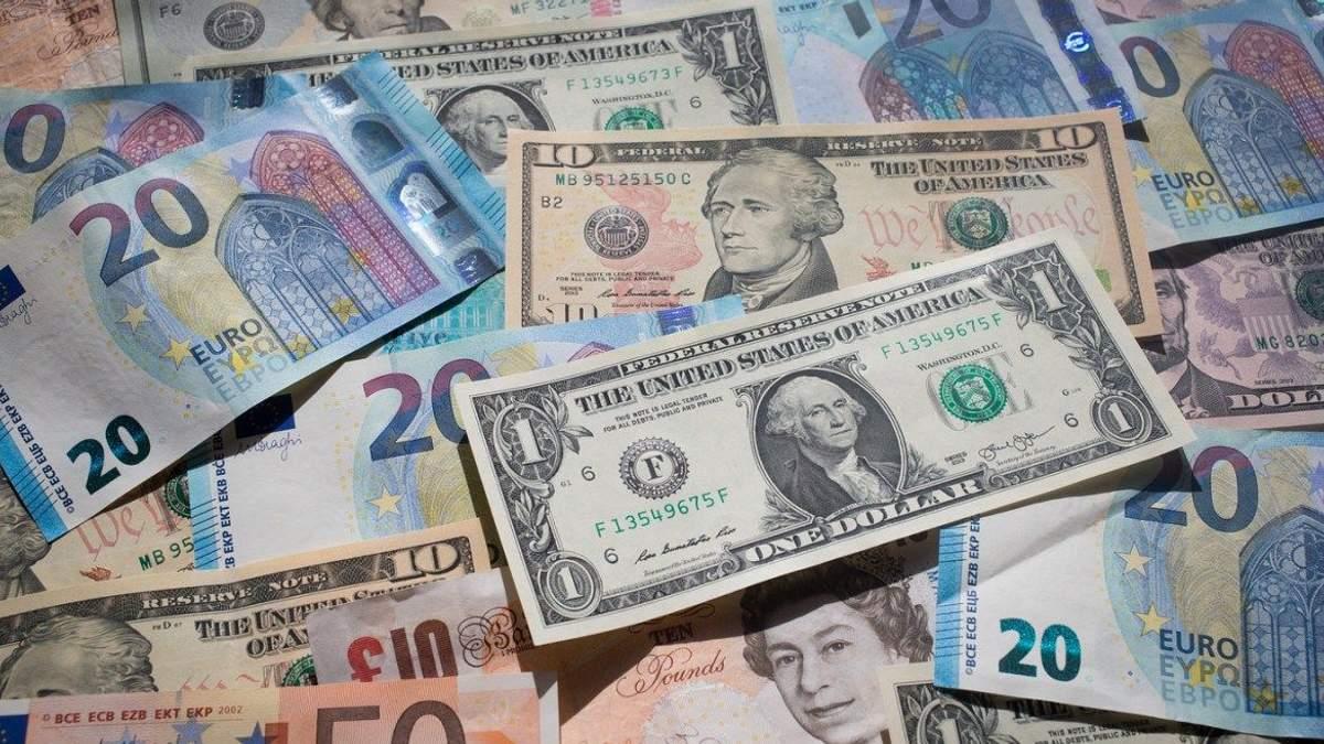Готівковий курс валют 29 листопада в Україні