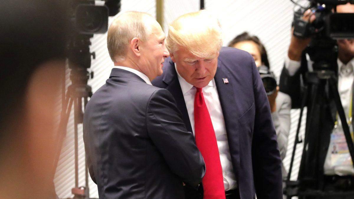 В Кремле отреагировали на решение Трампа отменить встречу с Путиным из-за событий в Украине