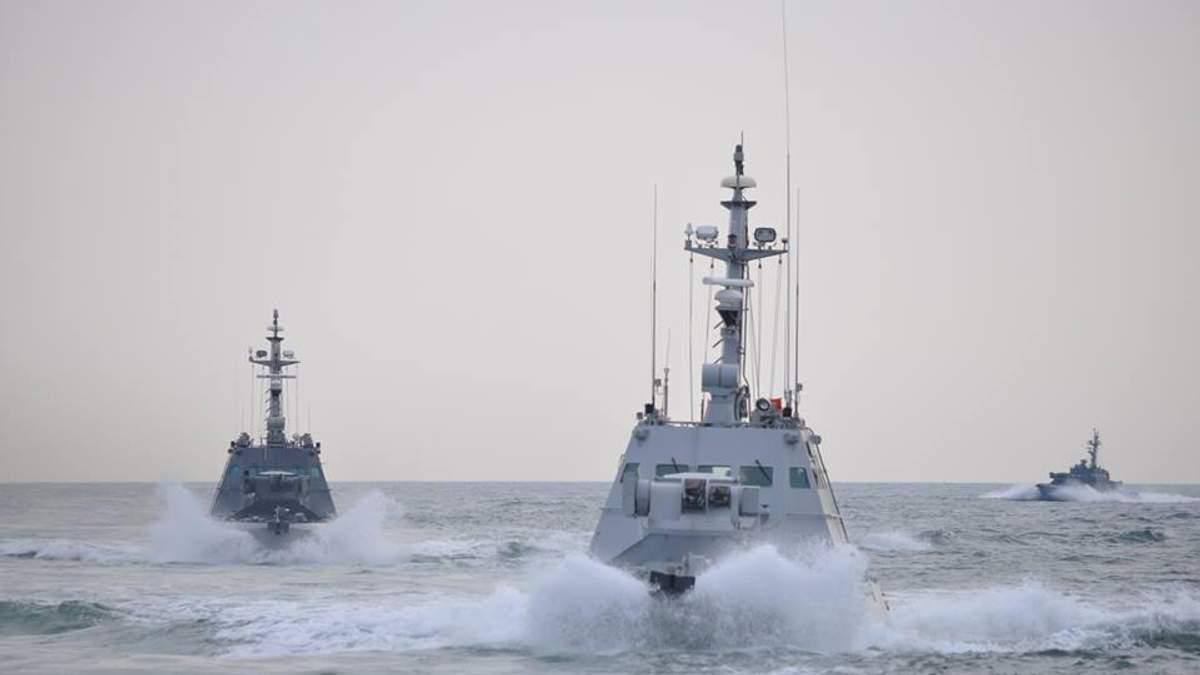 Украина предупреждала РФ о намерении прохождения через Азовское море