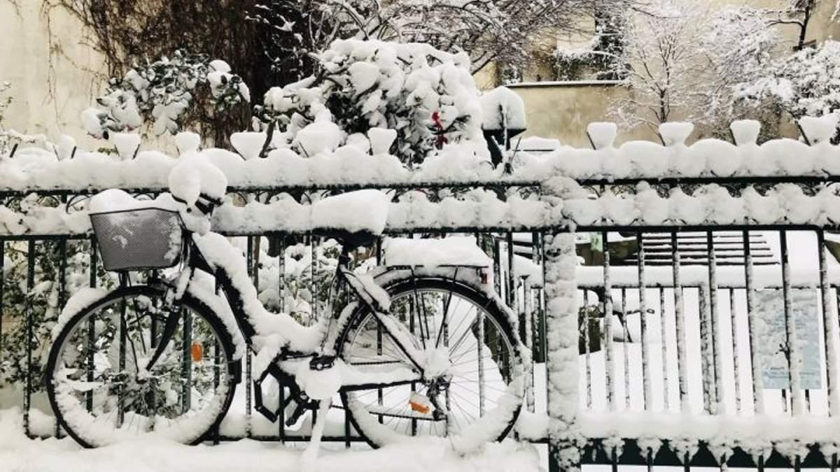 В Украину идет непогода и снегопады