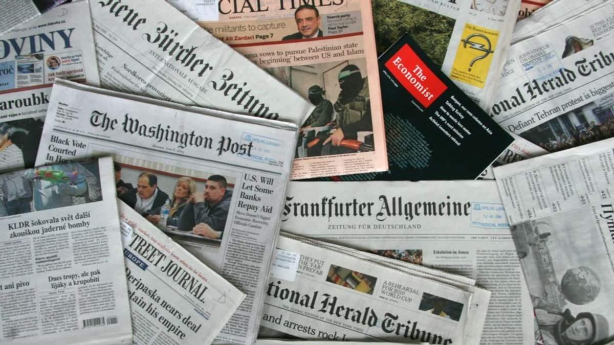 Воєнний стан в електоральних цілях: світова преса продовжує обговорювати Україну
