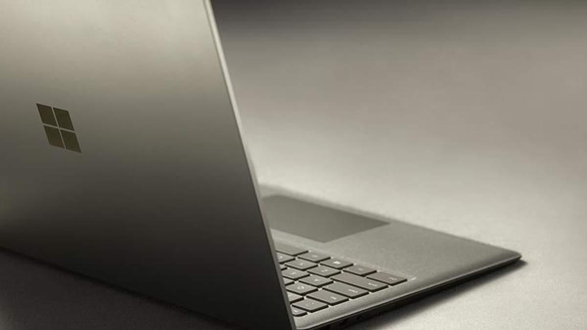 Microsoft Surface Laptop: що відомо про новий ноутбук