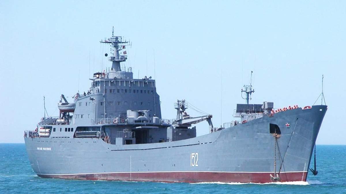Чому спецслужби не звертають уваги на російські кораблі на території України