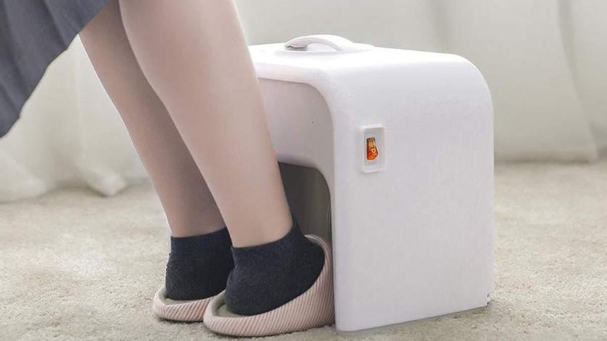 Xiaomi выпустила обогреватель для ног