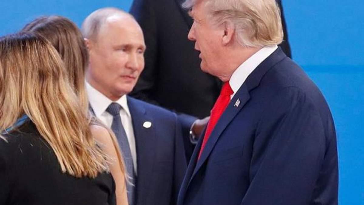 Путін і Трамп на саміті G20